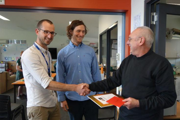 Hadley's School Prize Presented by Artery