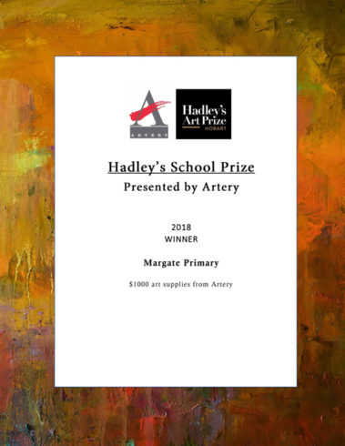 Hadley's School Prize Presented by Artery